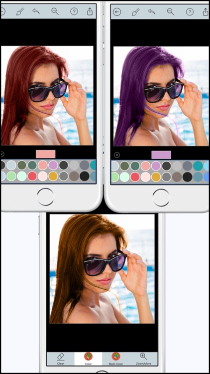 Hair Color Dye Pro - Recolor studio and Splash Effects Editor screenshot-4