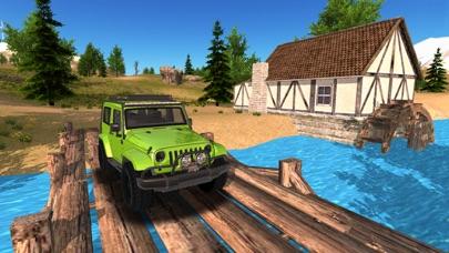 Offroad 4x4 car driving Mountain App 截图