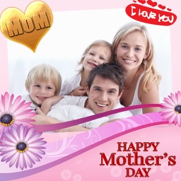 Mother's Day Frame and Sticker