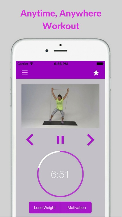 Resistance Band Loop Workouts for Women Exercises screenshot-3