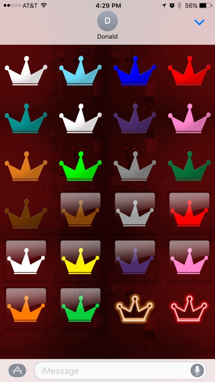Crown Stickers by Konsole Kingz