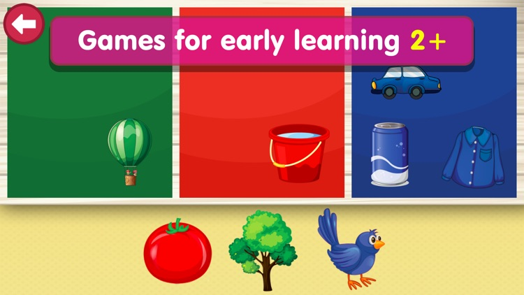 Shapes & Colors Learning: Free Toddler Kids Games