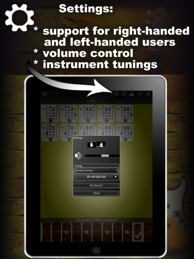 Bass Chords Compass - learn & play chord charts on the App Store