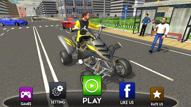 Modern City ATV Quad Bike Taxi