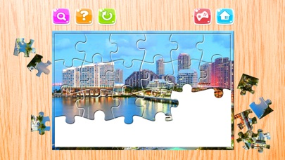City Puzzle for Adults Jigsaw Puzzles Games Free screenshot one