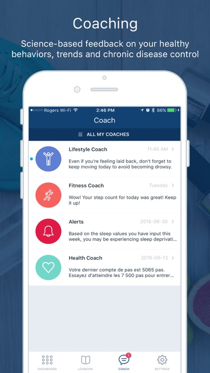 Tactio Health: My Connected Health Logbook screenshot-3