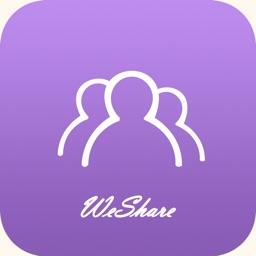 Micro sharing + a key forward circle of friends of friends