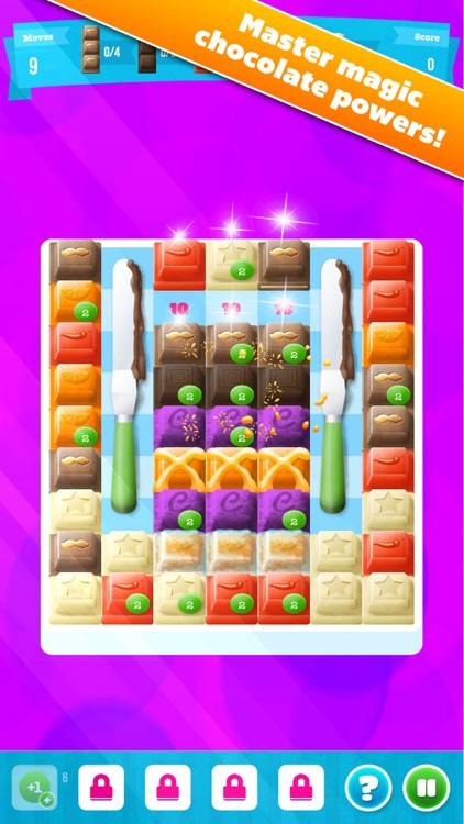 Choco Blocks: Christmas Edition Free by Mediaflex Games screenshot-2
