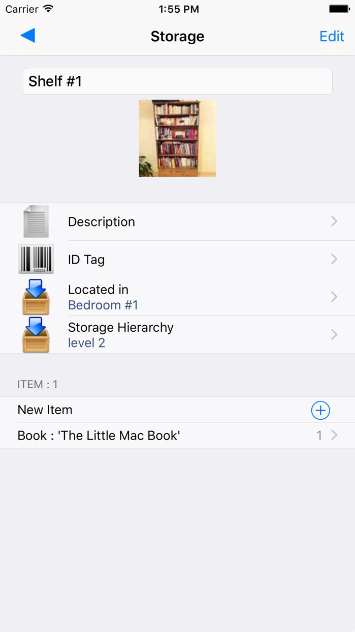Items & Storage & Inventory Screenshot