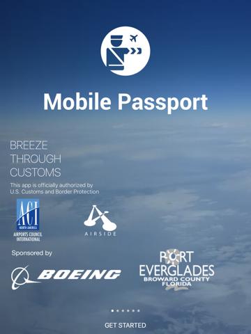 Mobile Passport screenshot 1
