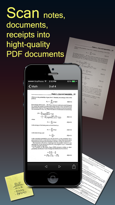 Fast Scanner : PDF Doc Scan Screenshot