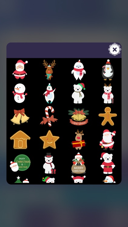 Winter Photo Stickers – Christmas Picture Editor screenshot-4