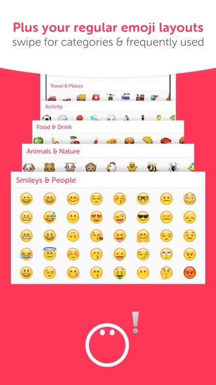Swiftmoji - Emoji Keyboard screenshot-4