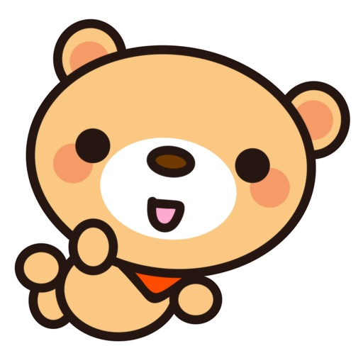 Fly Bear Sticker - Cute & Emotional Stickers