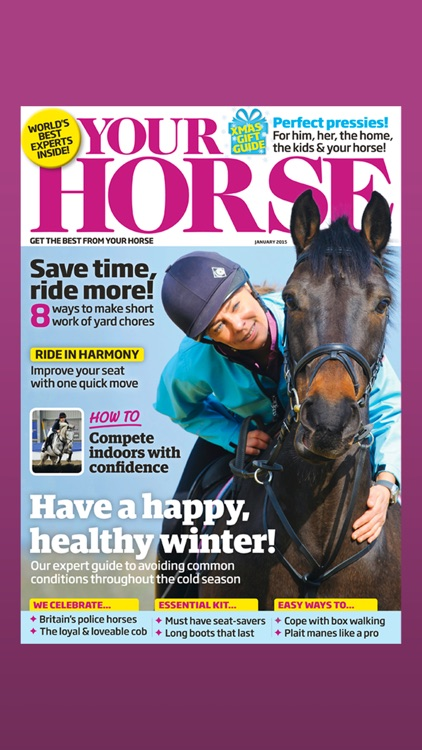 Your Horse Magazine: Become a better rider