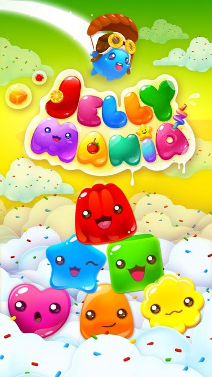 Jelly Mania HD screenshot-4