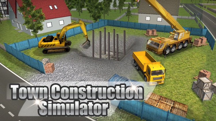 Town Construction Simulator 3D Full: Build a city! by Game Maveriks