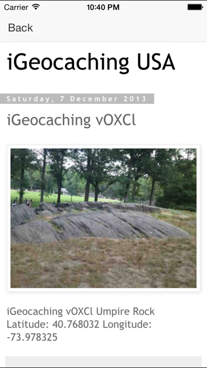 Geocaching America