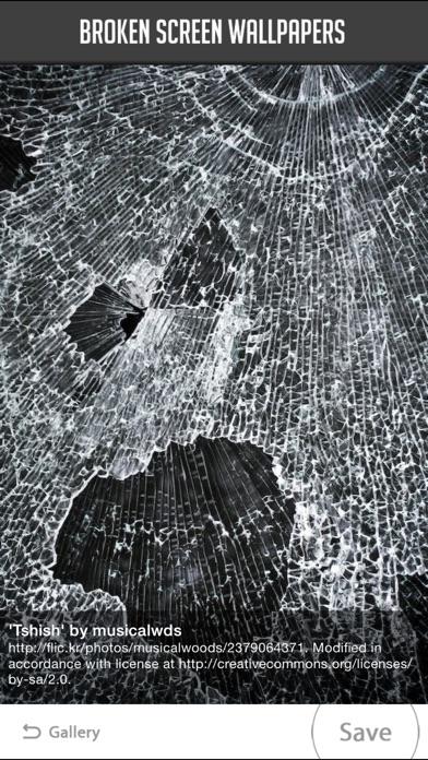 Broken Screen Wallpaper screenshot1