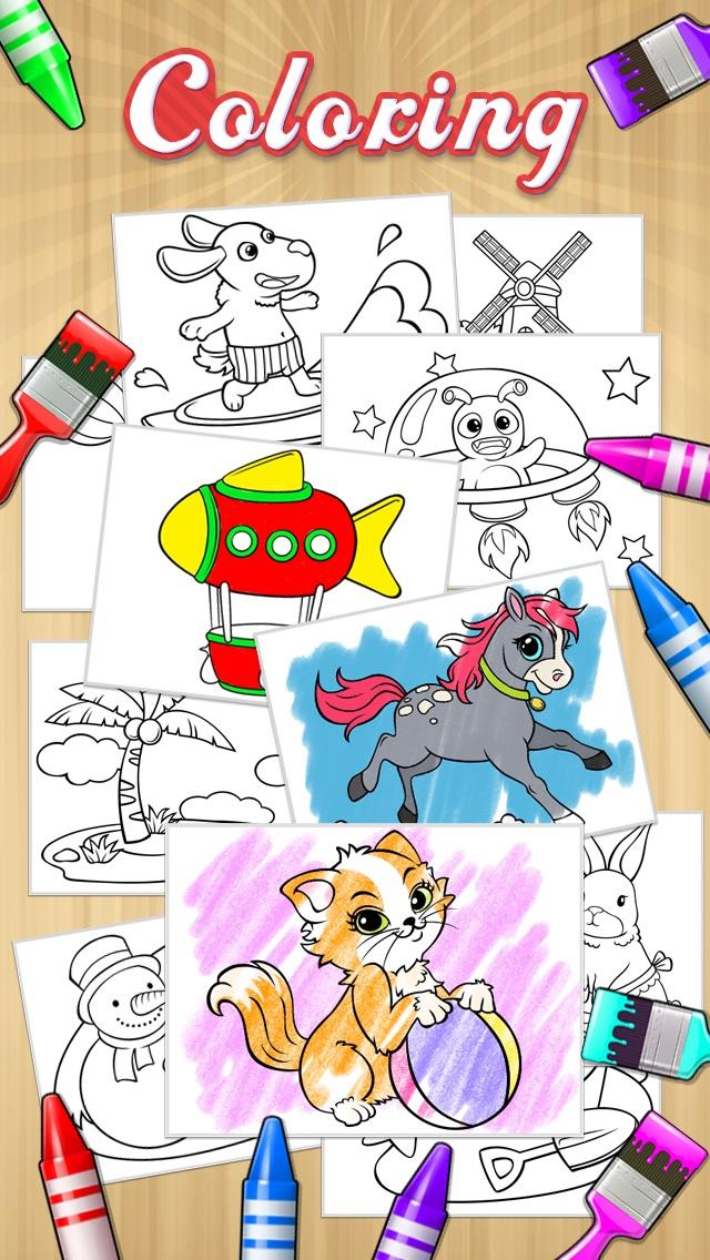 描く + 着色本のおすすめ画像3