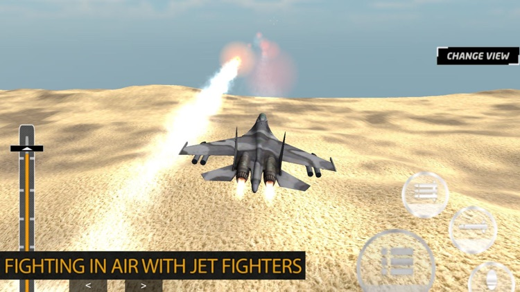 Army Fighter Jet Attack