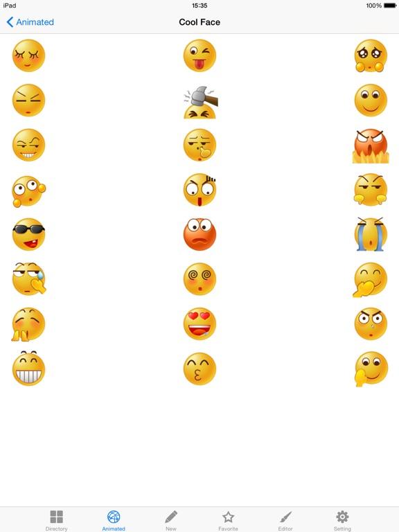 AA Emoji Keyboard - Animated Smiley Me Adult Icons-ipad-2