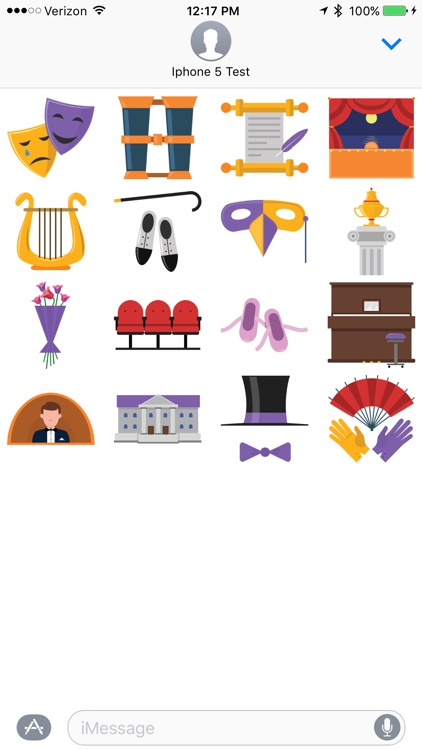 Theater - Sticker Pack
