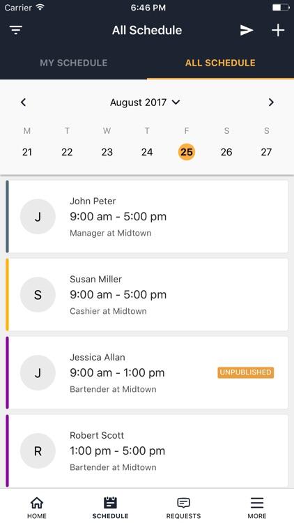 Staffvelox Employee Scheduling