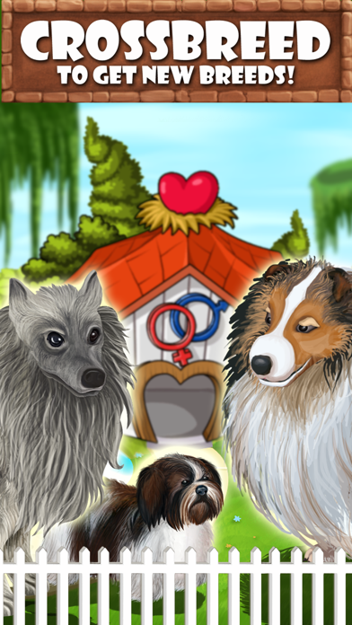 Puppy Care - puppies feed, breed, battle pet games screenshot three