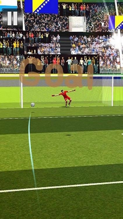 Penalty kick ShootOut Soccer Pro screenshot-4