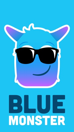 blue monster emojis on the app store