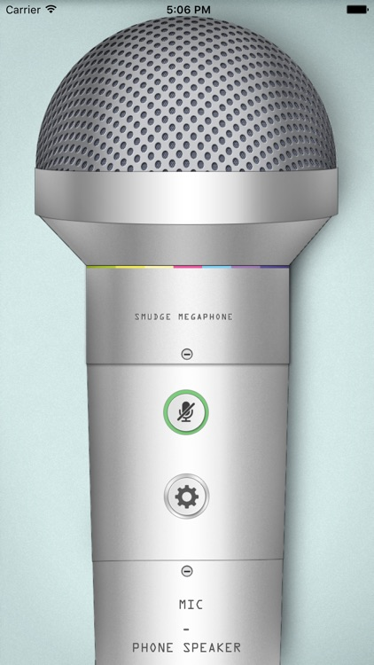 Megaphone: turn your device into a microphone
