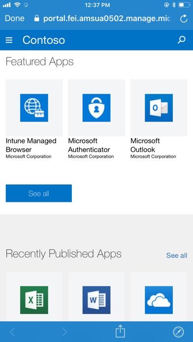 Intune Company Portal for Windows