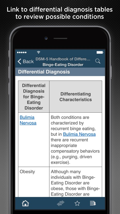 DSM-5™ Differential Diagnosis screenshot-3