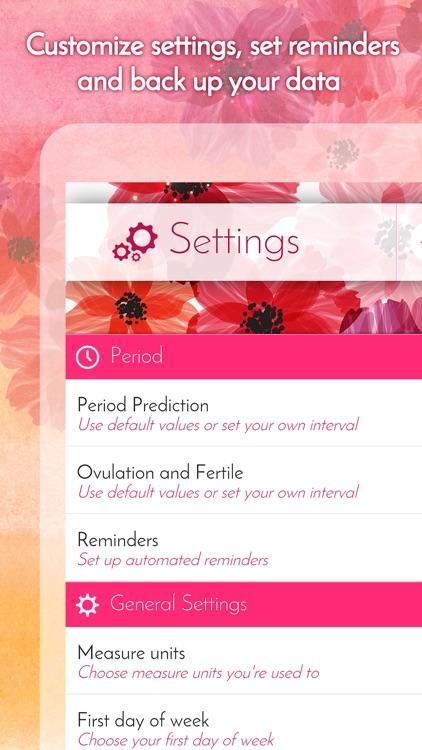 My Calendar - Period Tracker & Menstrual Calendar screenshot-4