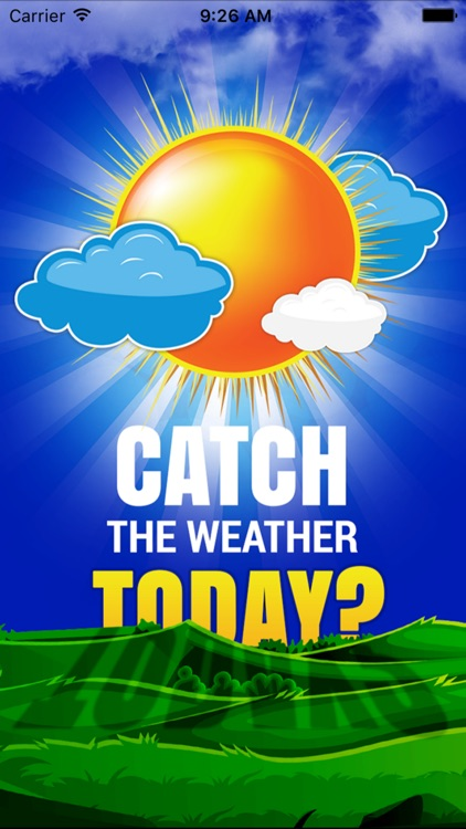 Catch The Weather Today? Accurate Weather Forecast