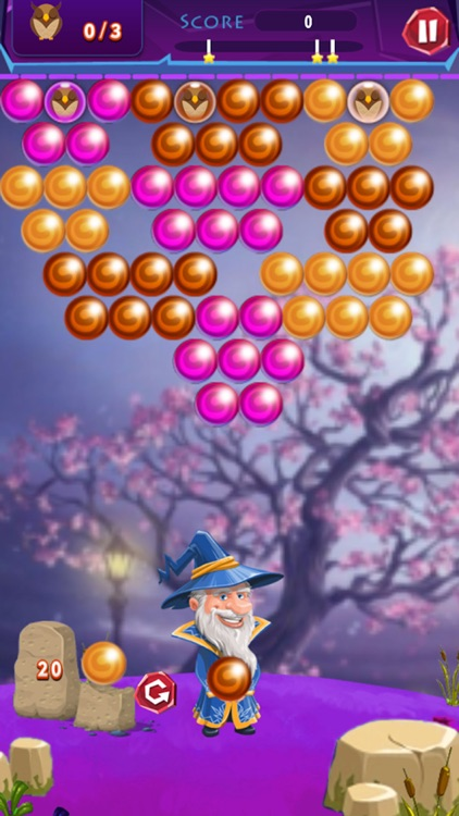 Bubble Shooter with Hero: Bubble Bird Rescue screenshot-3