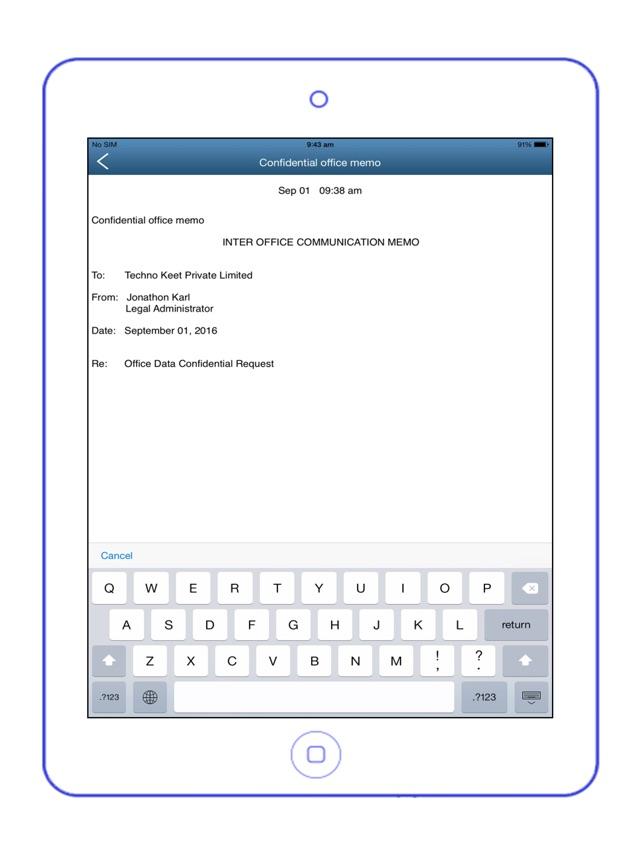 Easy Notes Locker Pro - Password Protected Notepad Screenshot