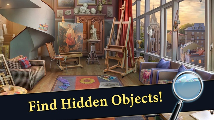 Hidden Objects Mystery Society screenshot-0