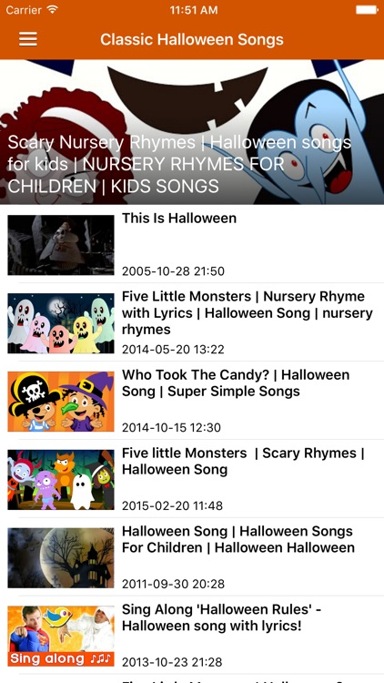 Halloween Songs & Scary Stories Free screenshot-3
