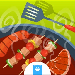 BBQ Grill Maker - Barbecue Cooking Game