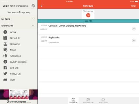 Screenshot of SDMPI