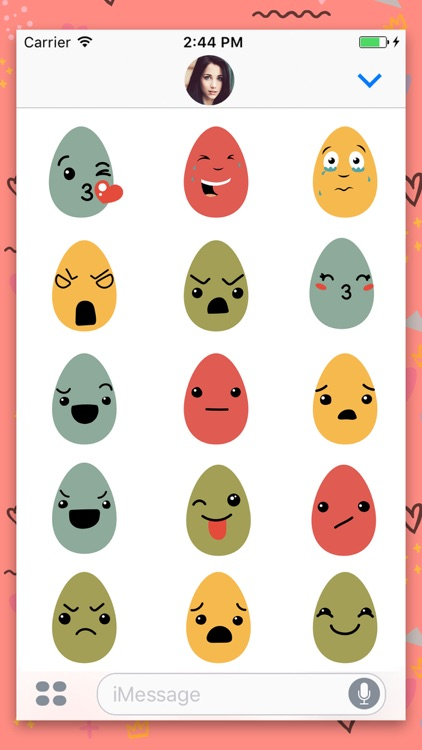 Egg Animated Chat Stickers