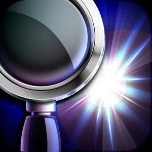 iMagnifier+ - Magnifying Glass Flashlight app