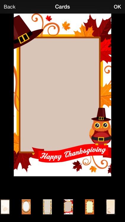 Thanksgiving Invitation Cards Maker