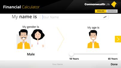 Commonwealth Life Financial Calculator screenshot three