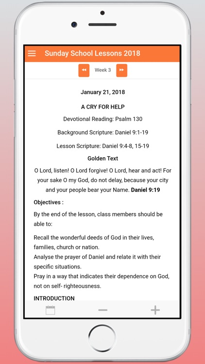 Sunday School Lessons 2018 screenshot-4