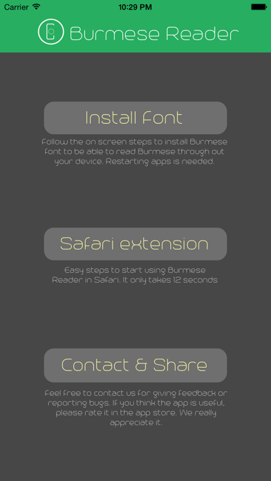 Top 10 Apps like MyFont - Myanmar Font in 2019 for iPhone & iPad