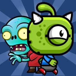 Aliens Run Zombies - PRO