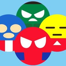 Activities of Superheroes Emoji Revolve - Emoticons Gamebattles
